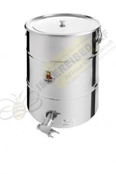 Abfüllbehälter 100kg Auflagedeckel