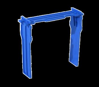 Apidea Ersatzrähmchen blau