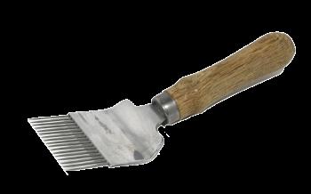 Entdeckelungsgabel Holzgriff