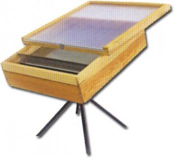 Sonnenwachsschmelzer Holz